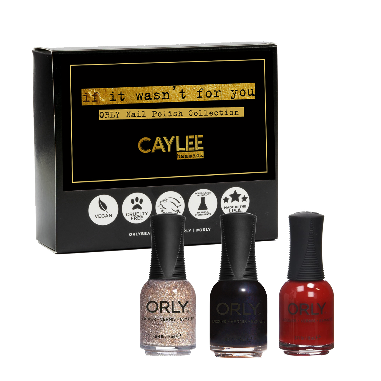 If It Wasn't For You Nail Polish Collection 2: